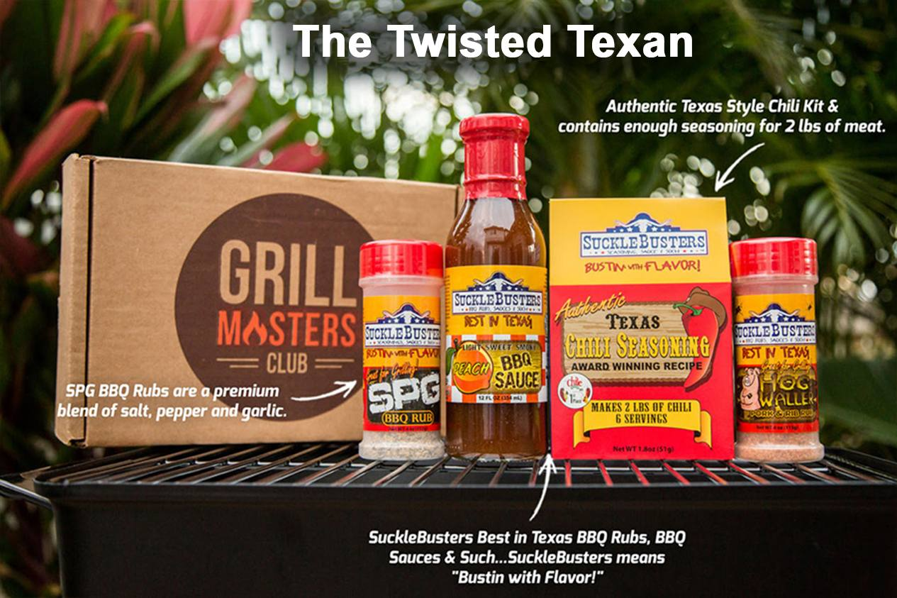 The Twisted Texan Grill Masters Club Box